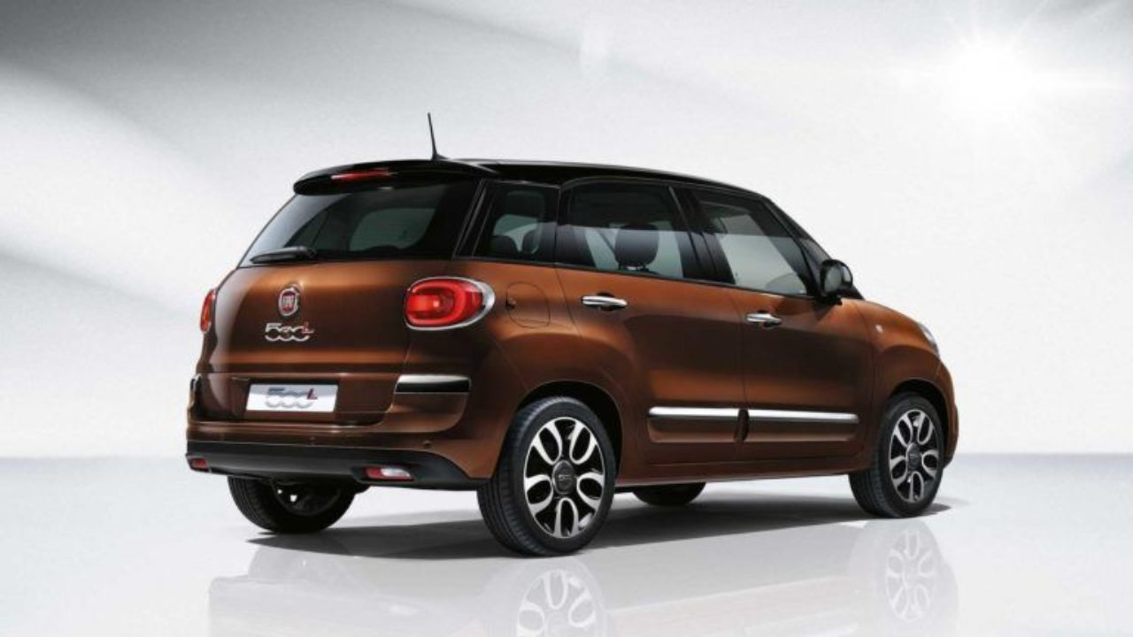 2021 Fiat 500L Overview